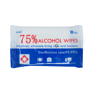 Disinfectant Wipes - 75% Alcohol - 10 Pack