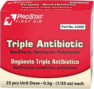 Triple Antibiotic Ointment .5gm 25 ct