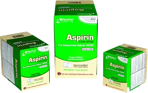 Aspirin 325mg 100ct box
