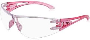 Optima Pink Temples Clear Lens