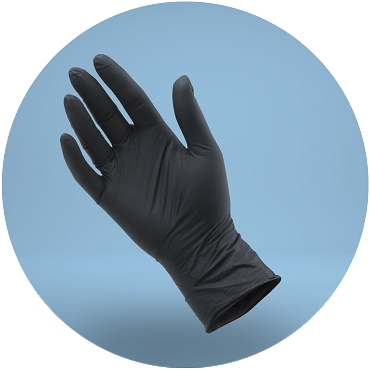 Disposable Nitrile Gloves - 100 Pack